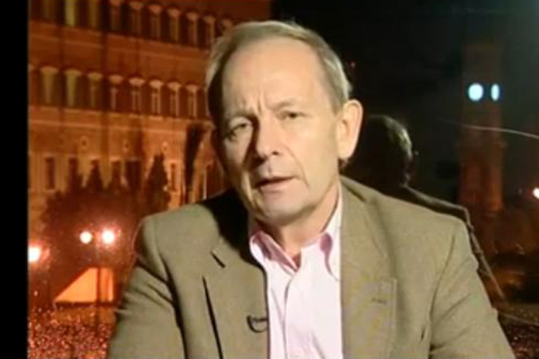 <p>Alastair Crooke is a former British spy who has used his role as head of a Middle East think tank to argue that the uprising in Syria is driven not by Syrian protesters but by a foreign plot to weaken Iran and that Assad's security forces are not responsible for opening fire on protesters.</p>