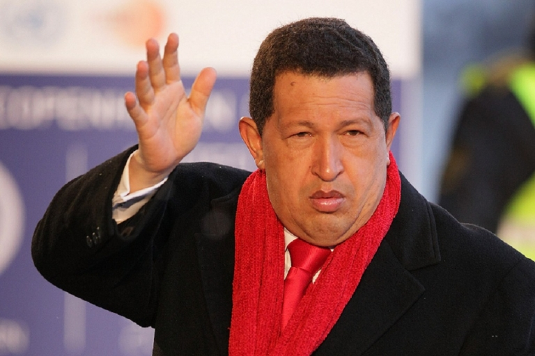 <p>Chavez fit and healthy on a visit to Denmark back Dec. 2009.  Rumours of his health problems began a year later.</p>