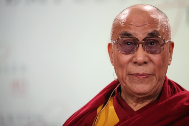 <p>His Holiness the Dalai Lama attends a press conference in St Paul's Cathedral before receiving the 2012 Templeton Prize on May 14, 2012 in London, England. The honor is awarded to people who 'affirm life's spiritual dimension'.</p>