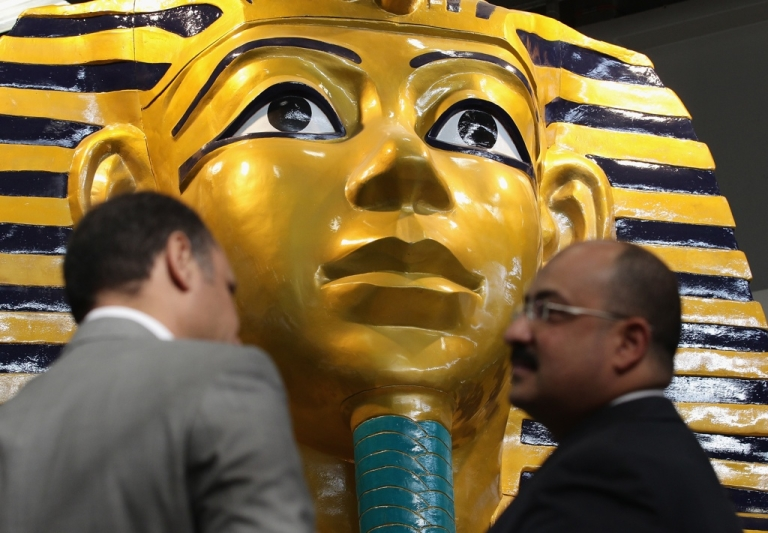 <p>The Egyptians brought their fire to the show.</p>
