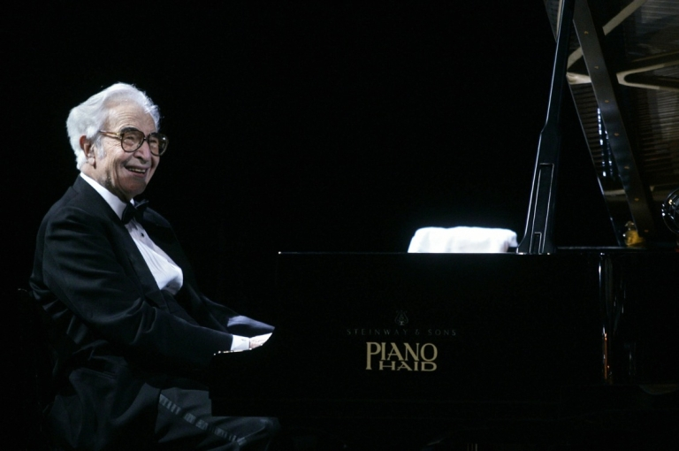 <p>Jazz pianist Dave Brubeck in 2005, aged 84. The legendary composer died on Dec. 5, 2012, one day before his 92nd birthday.</p>