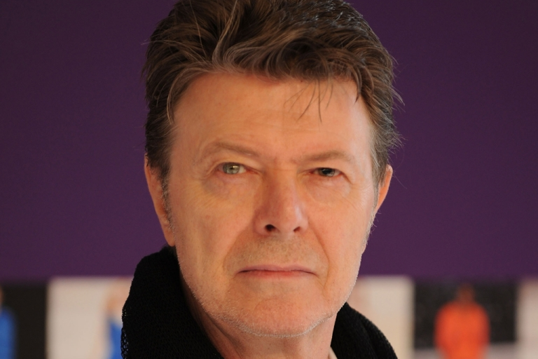 <p>David Bowie pictured in New York City. The British rock star released his first single in 10 years on January 8, 2013.</p>