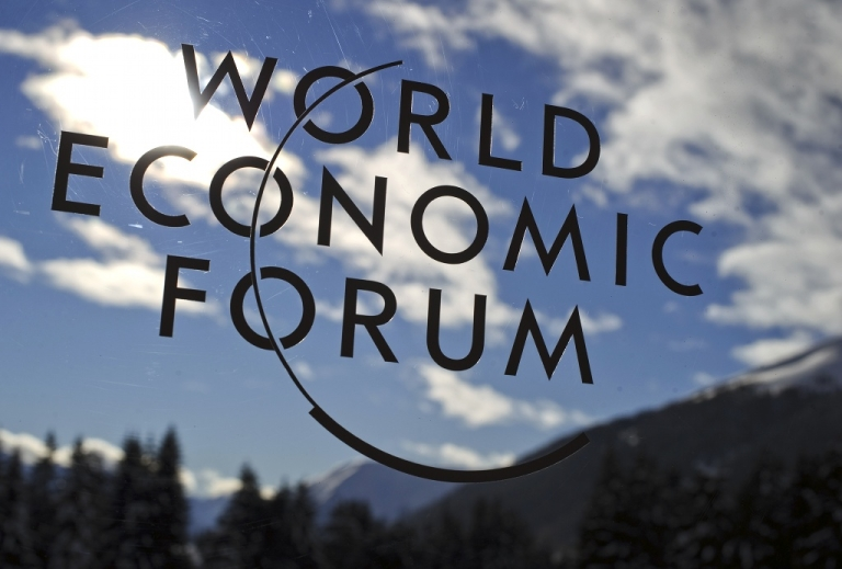 <p>Davos: the euro zone crisis followed the leaders to the Alps</p>