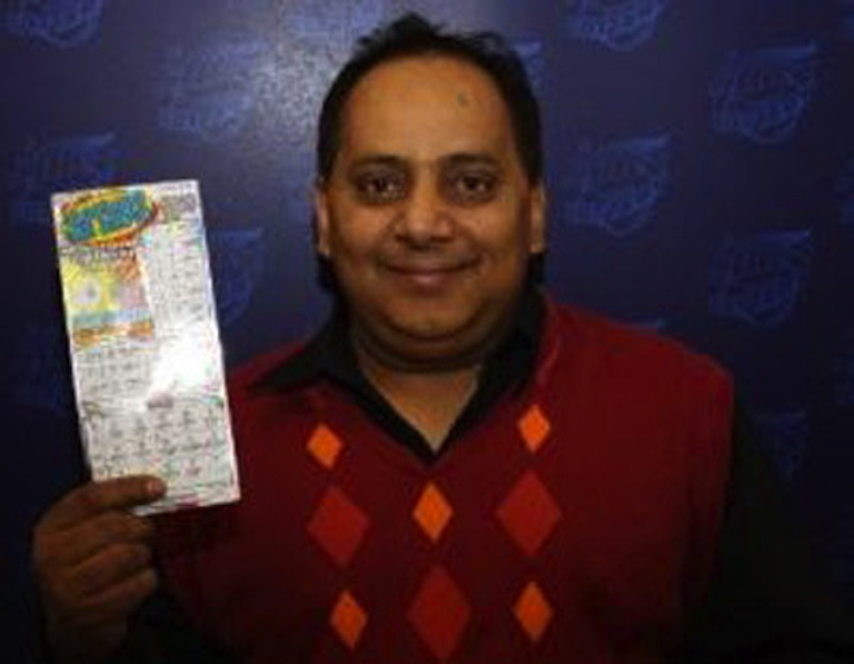 <p>Urooj Khan collected the lump sum option on the $1 million ticket on July 19. The next day he was dead.</p>