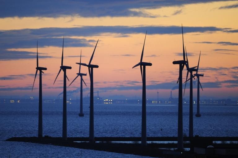 <p>A wind park in motion in Copenhagen.</p>