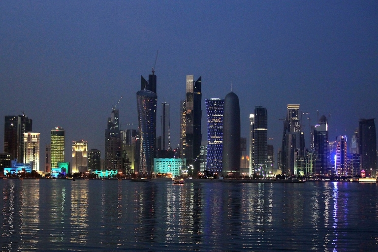 <p>A view of Doha's skyline. Nearly 200 nations will meet in the Qatari capital Doha for the 18th Conference of the Parties (COP18) of the United Nations Framework Convention on Climate Change.</p>