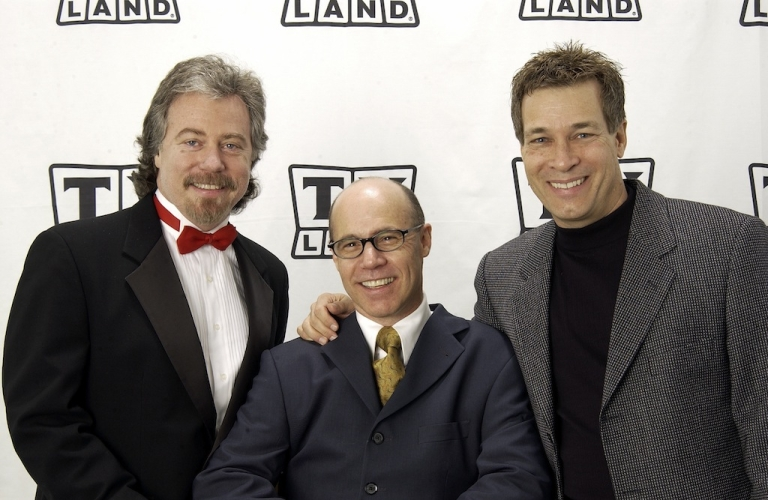 <p>Stanley Livingston (L), Barry Livingston (C), and Don Grady of