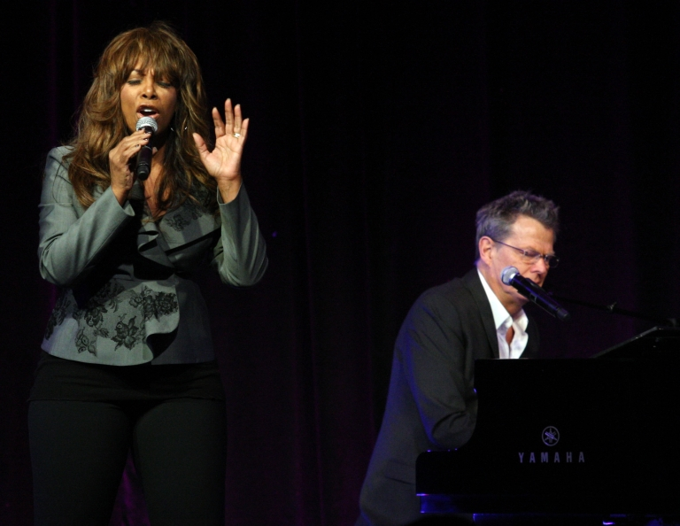 <p>Donna Summer speaks during the 'Great Performances: Hitman Returns - David Foster &amp; Friends' panel at the PBS portion of the 2011 Winter TCA press tour held at the Langham Hotel on January 9, 2011 in Pasadena, California.</p>