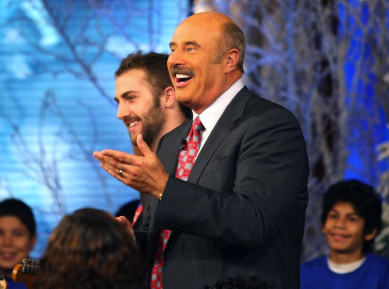 <p>Dr. Phil in action.</p>
