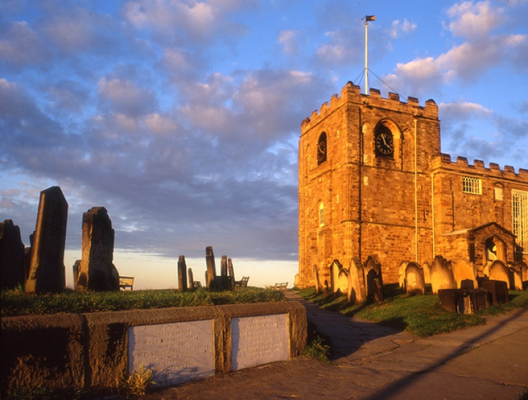 <p>A graveyard that features in Bram Stoker's 1897 novel Dracula is falling into the sea from soil erosion taking bodies with it.</p>