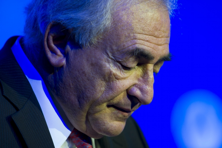 <p>Dominique Strauss-Kahn on a recent visit to China.  Is Gerard Depardieu the right actor to play him in a film about the sex scandal that cost him his career?</p>