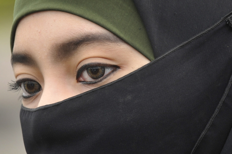 <p>The Dutch government said it will introduce a law next week banning head coverings such as birqas.</p>