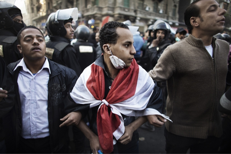 <p>President Barack Obama asked Congress for $770 million in aid for the Arab Spring countries, as well as an additional $1.3 billion for Egypt, despite tensions over American democracy groups being targeted in Egypt. Protesters and police engaged in sporadic clashes as violence raged in early February.</p>