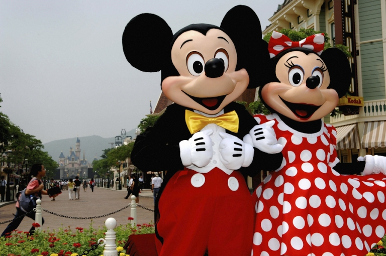 <p>Mickey and Minnie Mouse. An Egypt Christian telecom mogul, one of the country's richest men, has been accused of mocking Islam after tweeting cartoons of Mickey and Minnie in conservative Muslim dress.</p>