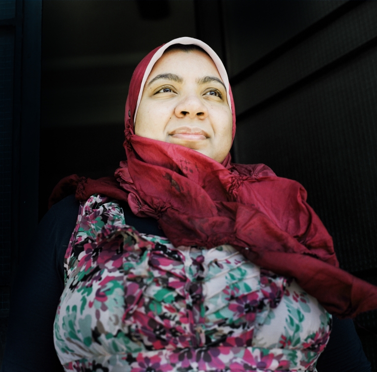 <p>Marwa Maamoun, a prominent poet and activist in Egypt who wrote poetry throughout the political uprising in support of the protests, Alexandria, Egypt in May 2012.</p>