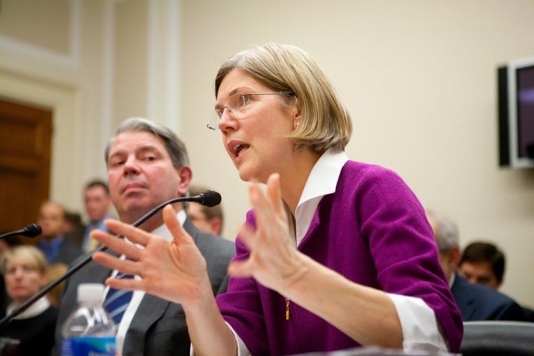<p>Elizabeth Warren</p>