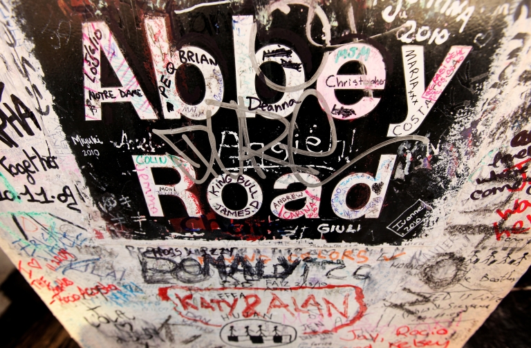 <p>EMI, owner of Abbey Road Studios, made famous by the Beatles, was sold to Universal Group.</p>