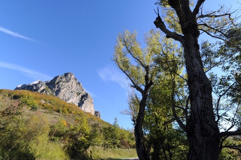 <p>Bugarach, France, one of two villages in the world where believers think you can survive the end of the world on Dec. 21.</p>
