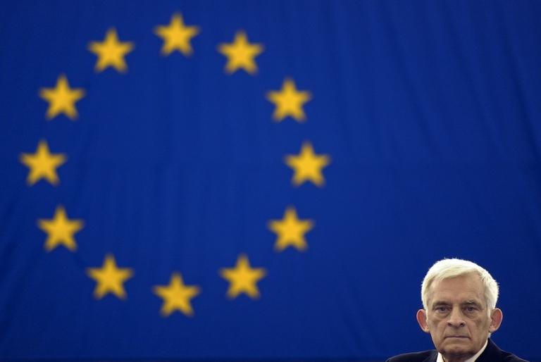 <p>Sakharov prize award ceremony at the European Parliament in Strasbourg, eastern France, on December 14, 2011.</p>