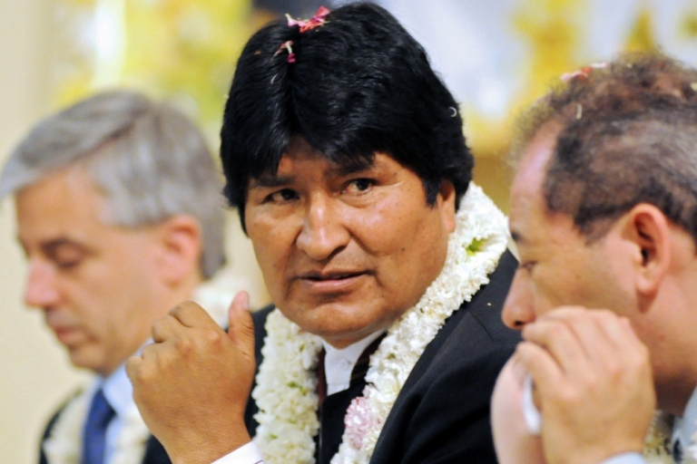 <p>Morales: man of the people?</p>
