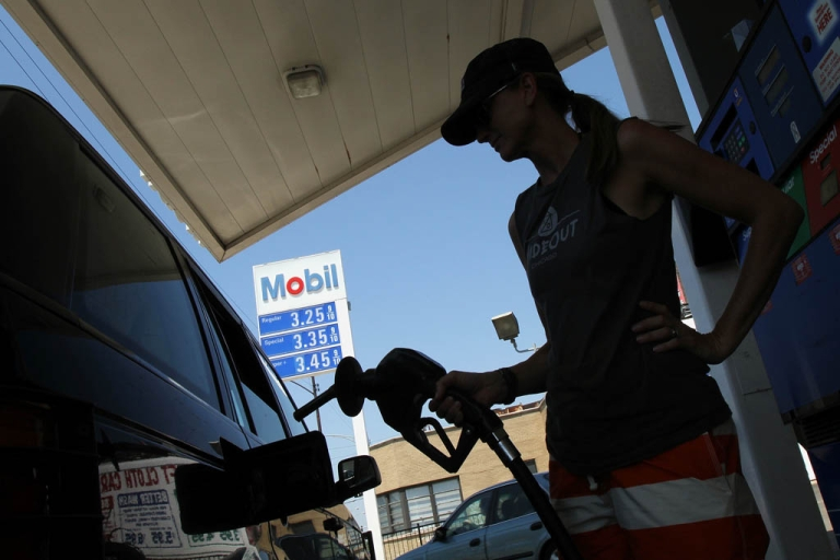 <p>Exxon Mobil's quarterly profit of $16 billion broke records but was bolstered by one-time asset sales. Slowing demand for oil in the world's largest economies and and a drop in U.S. natural-gas prices dimmed the profit potential for the world's biggest oil company.</p>