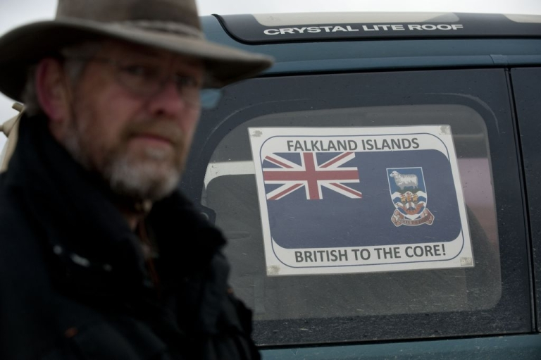 <p>The Falklands government says the referendum is intended to show the world that islanders want to remain part of the UK.</p>