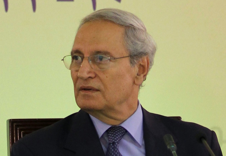 <p>Syria VP Farouq al-Sharaa turns up after a weeks-long disappearance, ending rumors of defection.</p>
