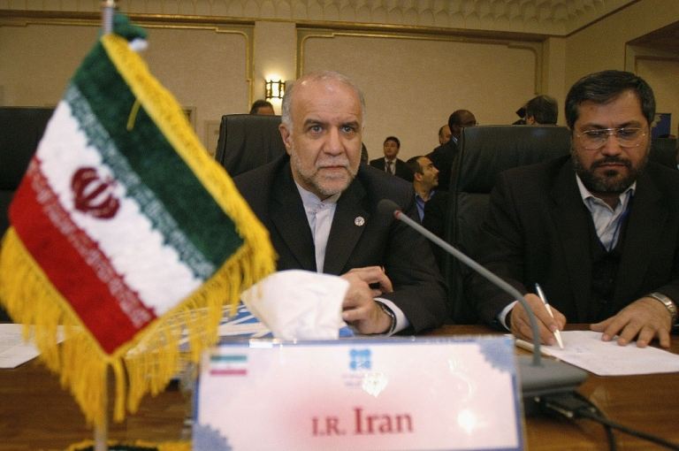 <p>OPEC President and Kuwaiti Energy Minister Sheikh Ahmad al-Fahd al-Sabah attends the 135th meeting of the Organisation of Petroleum Countries (OPEC) conference, 340km (211 miles) south of the capital Tehran on March 16, 2005 in Isfahan, central Iran. OPEC will add an actual volume of 500,000 barrels per day to the market in April, al-Sabah said March 16.</p>