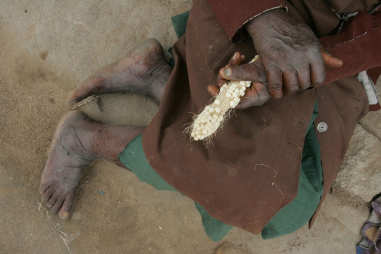 <p>A poor harvest. Oxfam is warning that food prices are set to double over the next 20-years making survival for many of the world's poorest even more difficult.</p>