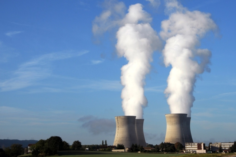 <p>The four reactors of the Bugey's nuclear plant on August 29, 2011 in Saint-Vulbas, 35 Kms east of Lyon, central eastern France.</p>