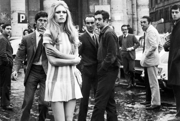 <p>Making love often slows aging and improves health. French sex symbol Brigitte Bardot rehearses a scene of the film 'Les femmes' directed by Jean Aurel on April 1969 in Italy.</p>