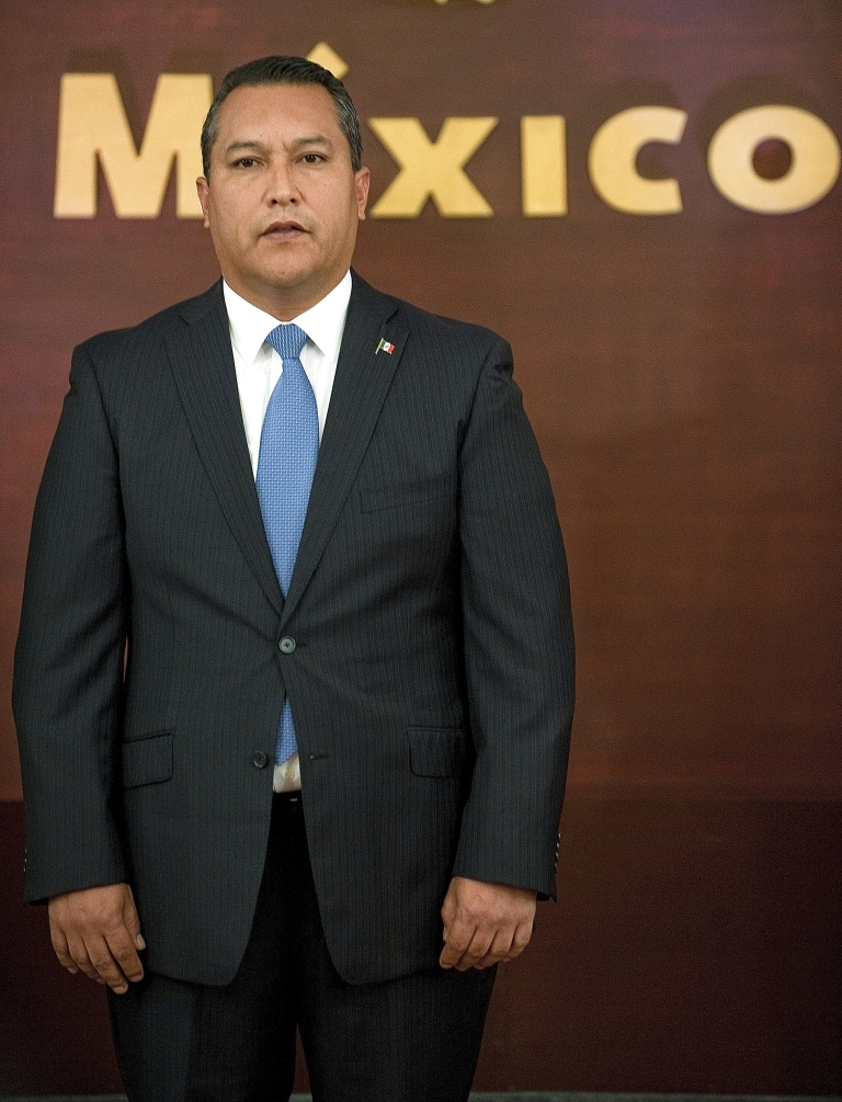 <p>Mexico's former Interior Minister Jose Francisco Blake is seen at the Los Pinos Residence in Mexico City, on July 14, 2010.</p>