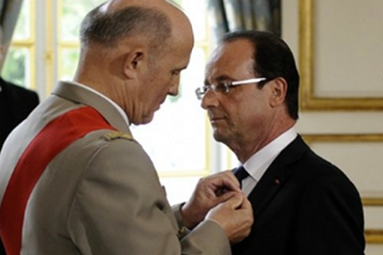 <p>Socialist candidate Francois Hollande is sworn in as the seventh president of the fifth French republic.</p>