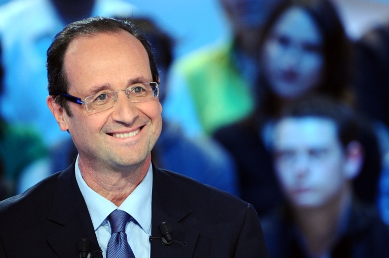 <p>Francois Hollande: the next French president?</p>