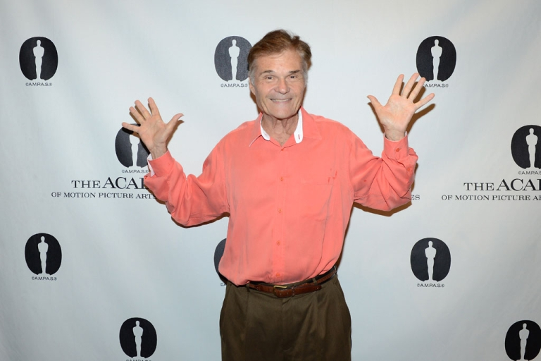 <p>Actor Fred Willard arrives at The Academy of Motion Pictures Arts and Science's