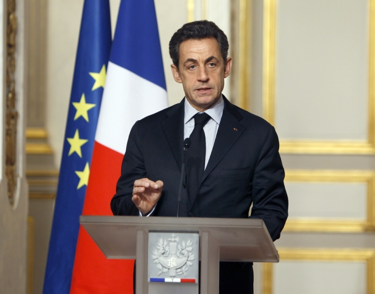 <p>Sarkozy came to the rescue. Will it be enough?</p>