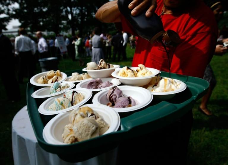 <p>Members Of Congress attend 27th annual Capitol Hill Ice Cream Party on June 18, 2009 in Washington, DC.</p>