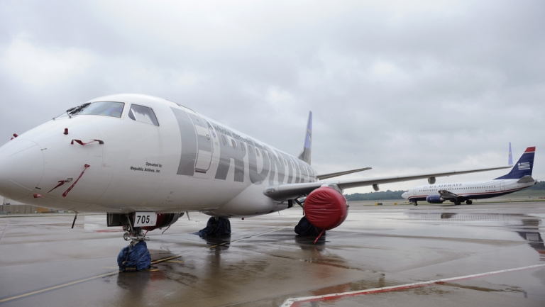 <p>A Frontier Airlines pilot was kept from flying after he failed a blood-alcohol test Thursday. The Federal Aviation Administration is investigating the incident.</p>
