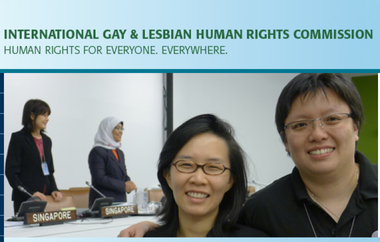 <p>The Web site for the International Gay and Lesbian Human Rights Commission has been deemed pornographic by Indonesia's government and banned.</p>