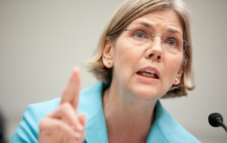<p>Elizabeth Warren, chairman of the TARP Congressional Oversight Panel, testifies at a hearing on Capitol Hill, on July 22, 2009 in Washington, DC.</p>