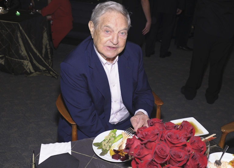 <p>Billionaire financier George Soros married for a third time on Saturday, tying the knot with education consultant Tamiko Bolton.</p>
