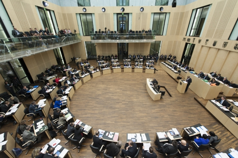<p>Members of the German Parliament Dec. 12, 2012 in Berlin. If the Bundestag passes the self-employment Social Security tax, tax burdens will rise significantly on millions.</p>