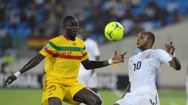 <p>Masturbation is a lot like soccer. Why would one stop? Here, Ghana's Andre Ayew (R) vies for the ball with Mali's defender Ousmane Coulibaly during the third-place playoff Africa Cup of Nations football match between Mali and Ghana, in Malabo, on Febuary 11, 2012.</p>