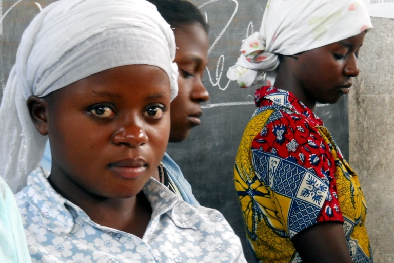 <p>Now in a cooking class in Goma, 19-year-old Alliance says after she escaped from the rebel milita that forced her to be a girl soldier, she went home to find herself shunned by her village, and viewed as rebel collaborator. She is building a new life at the Tumaini Center where she is learning skills.</p>