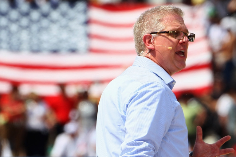 <p>Conservative talk show host Glenn Beck is bringing his Internet-only network back to TV with a deal with Dish Network.</p>