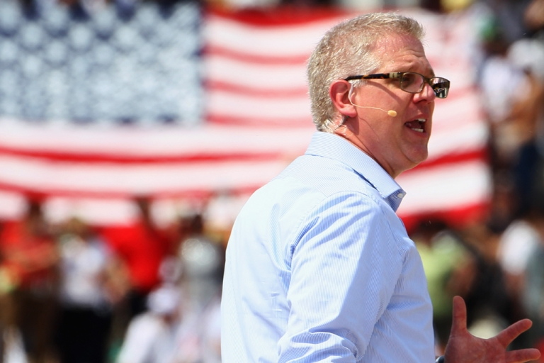 <p>Former Fox News personality and controversial conservative pundit Glenn Beck renewed his contract for a radio show at an estimated $100 million on June 11, 2012.</p>
