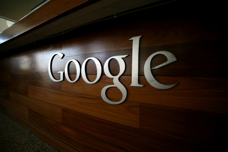 <p>The Google logo is seen at the Google headquarters in Mountain View, California. Google+ users spent an average of just 3.3 minutes on the site in January, far behind other social media sites.</p>