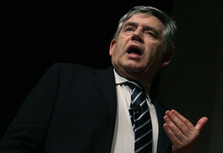 <p>Gordon Brown has warned that Monday's G20 summit is the