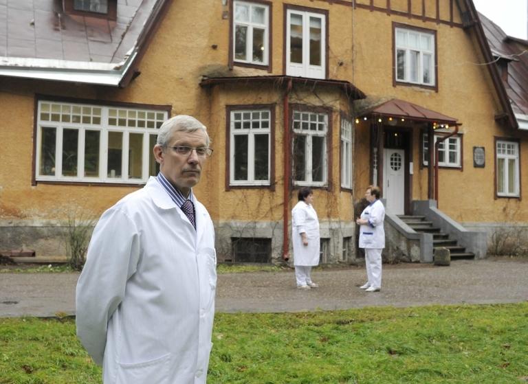 <p>Manfred Danilovits, head of the Department of Tuberculosis at Tartu University Clinics.</p>