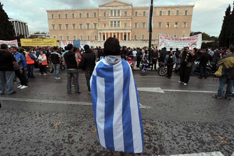 <p>Greece's fate hangs in the balance once again.</p>